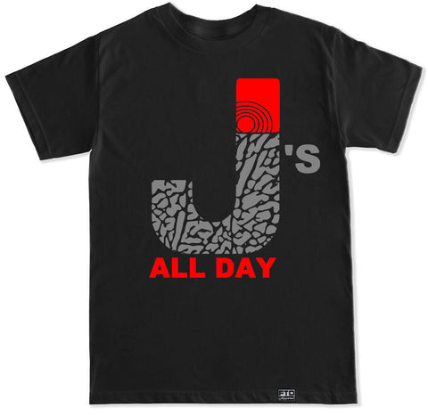Men's J's ALL DAY T Shirt