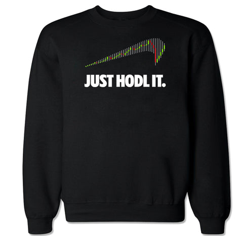 Men's Just Hodl It Crewneck Sweater