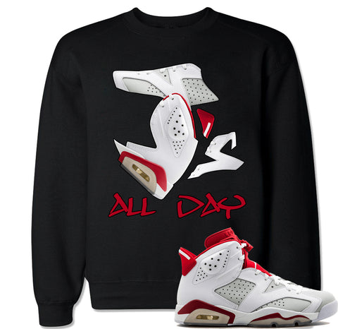 Men's J's All Day Alternate 6 Crewneck Sweater