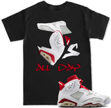 Men's J's All Day Alternate 6 T Shirt