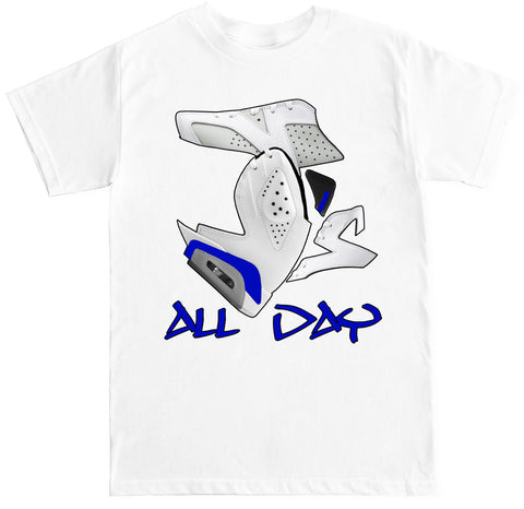 Men's J's All Day 6 Sport Blue T Shirt