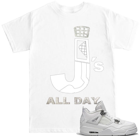 Men's J's All Day Pure Money T Shirt