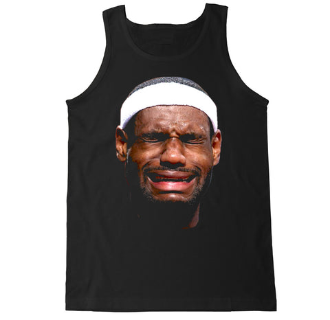 Men's LEBRON CRYING FACE Tank Top