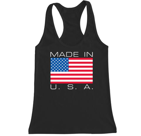 Women's Made in U.S.A. Racerback Tank Top