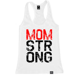 Women's MOM STRONG Racerback Tank Top