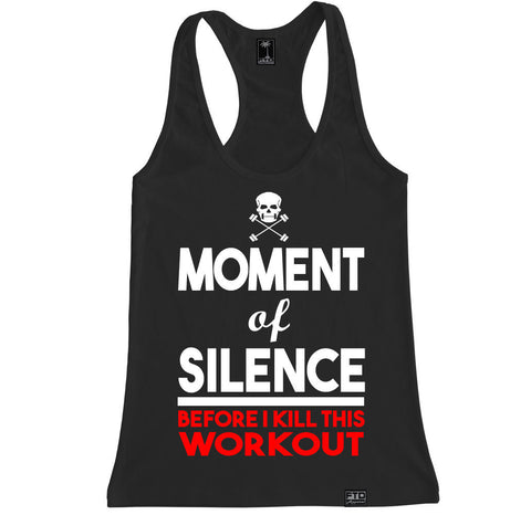 Women's MOMENT OF SILENCE Racerback Tank Top