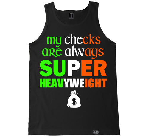 Men's CHECKS SUPER HEAVYWEIGHT Tank Top