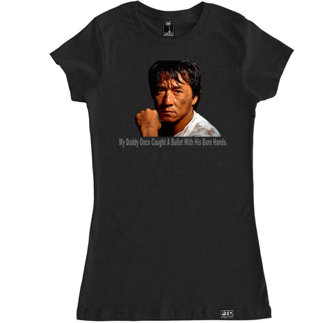 Women's JACKIE CHAN MY DADDY T Shirt