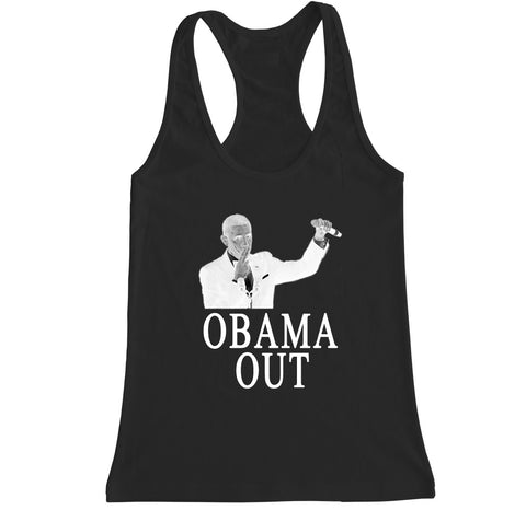 Women's OBAMA OUT Racerback Tank Top