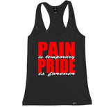 Women's PAIN PRIDE Racerback Tank Top