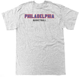 Men's Philadelphia Basketball T Shirt