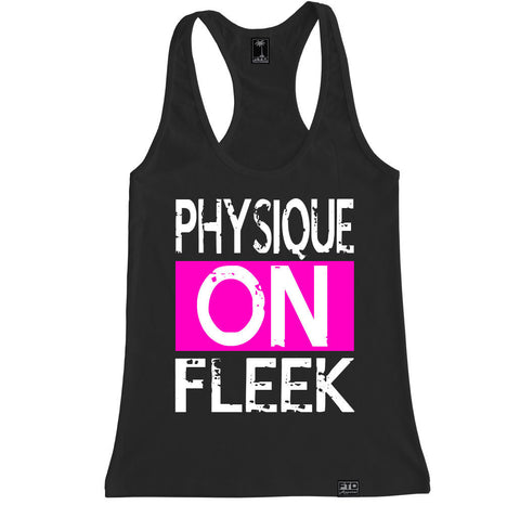 Women's PHYSIQUE ON FLEEK Racerback Tank Top