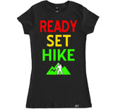 Women's READY, SET, HIKE T Shirt
