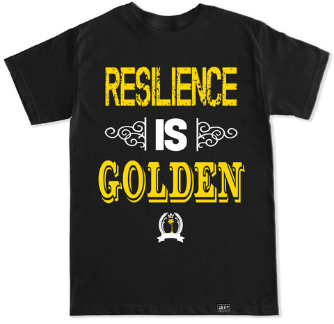 Men's RESILIENCE IS GOLDEN T Shirt