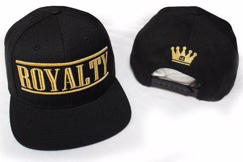 Gold Royalty Snapback Hat