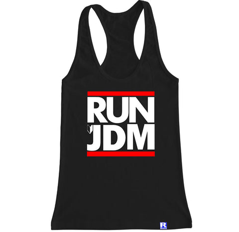 Women's RUN JDM Racerback Tank Top