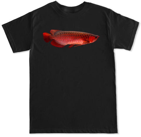 Men's Red Arowana Fish T Shirt