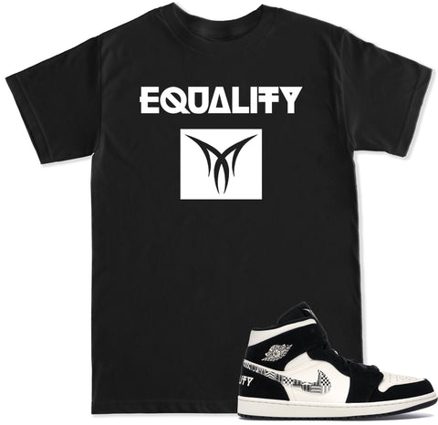Men's Retro 1 Equality T Shirt