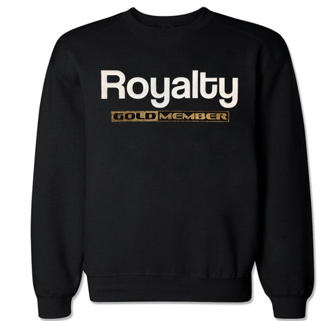 Men's ROYALTY GOLDMEMBER Crewneck Sweater