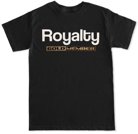 Men's ROYALTY GOLDMEMBER T Shirt Gold