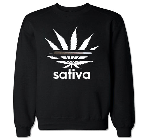 Men's SATIVA ADIDAS Crewneck Sweater