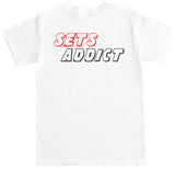 Men's Sets Addict T Shirt