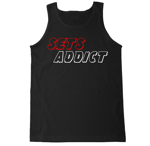 Men's Sets Addict Tank Top