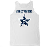 Men's She Loves the D Tank Top