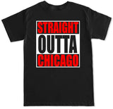 Men's Straight Outta Chicago T Shirt