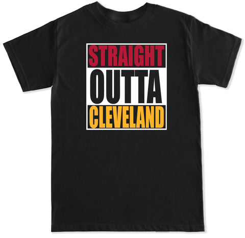 Men's Straight Outta Cleveland T Shirt