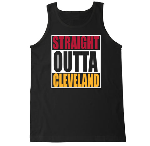 Men's Straight Outta Cleveland Tank Top