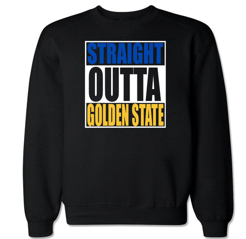 Men's Straight Outta Golden State Crewneck Sweater