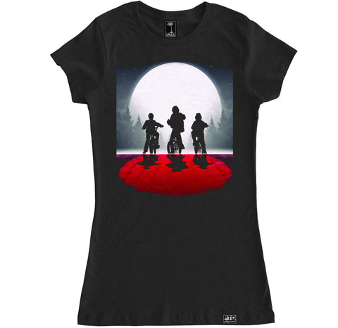 Women's STRANGER THINGS MOON T Shirt