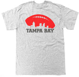 Men's Tampa Bay Football Skyline T Shirt