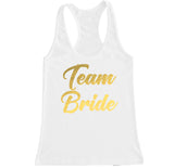 Women's TEAM BRIDE Racerback Tank Top