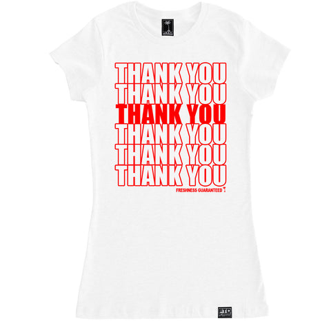 Women's THANK YOU BAG T Shirt