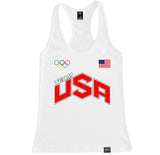 Women's TEAM USA Racerback Tank Top