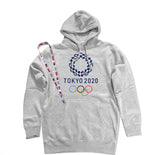 Men's Tokyo 2020 Olympics Pullover Hooded Sweater with USA Olympic Lanyard