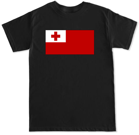 Men's Tonga Flag T Shirt
