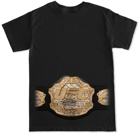 Men's UFC BELT T Shirt