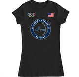 Women's USA Archery Olympic T Shirt