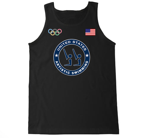 Men's USA Artistic Swimming Olympic Tank Top