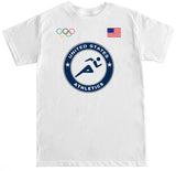 Men's USA Athletics Olympic T Shirt