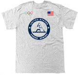 Men's USA Canoe Sprint Olympic T Shirt