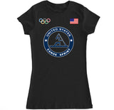 Women's USA Canoe Sprint Olympic T Shirt