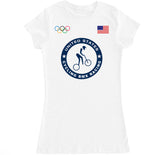 Women's USA Cycling BMX Racing Olympic T Shirt