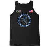 Men's USA Cycling Mountain Bike Olympic Tank Top