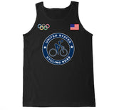 Men's USA Cycling Road Olympic Tank Top