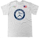 Men's USA Softball Olympic T Shirt
