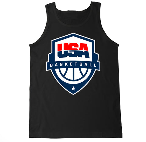 Men's USA Basketball Badge Tank Top